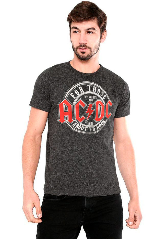PLAYERA AC/DC FOR THOSE ABOUT TO ROCK