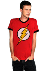 PLAYERA FLASH RINGER LOGO CLÁSICO