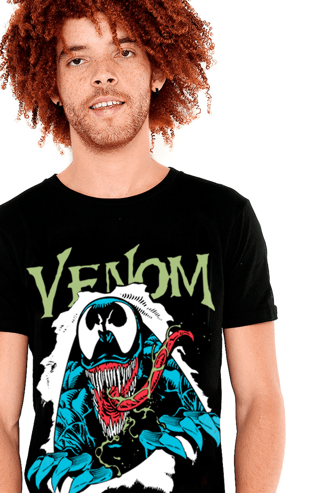 PLAYERA VENOM CÓMIC