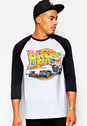 PLAYERA RANGLAN BACK TO THE FUTURE