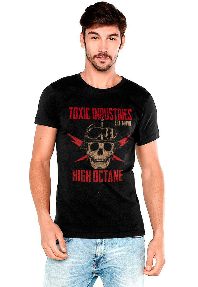 PLAYERA TOXIC INDUSTRIES HIGH OCTANE