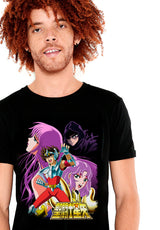 PLAYERA SAINT SEIYA CARTEL