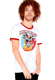 PLAYERA RINGER ANIMANIACS YAKO, WAKO Y DOT