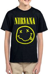 PLAYERA NIRVANA CARITA KIDS