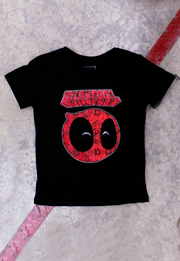 PLAYERA DEADPOOL LOGO KIDS