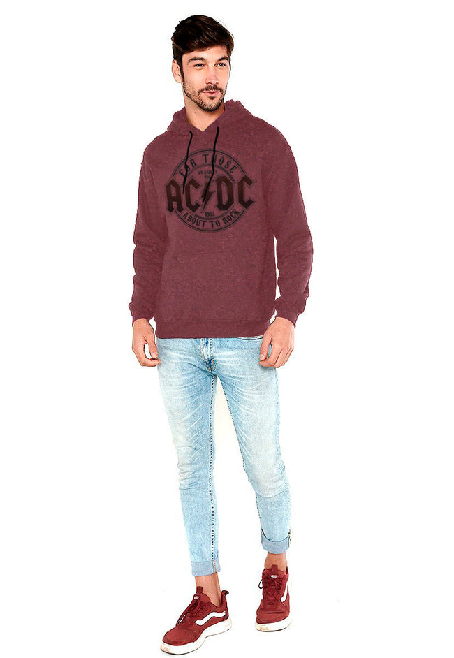 SUDADERA AC/DC FOR THOSE ABOUT TO ROCK