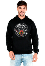 SUDADERA STRANGER THINGS HELLFIRE