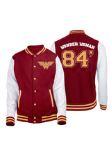SUDADERA VARSITY WONDER WOMAN