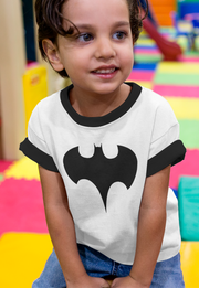 PLAYERA RINGER BATMAN KIDS PN