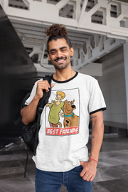PLAYERA RINGER SCOOBY DOO BEST FRIENDS