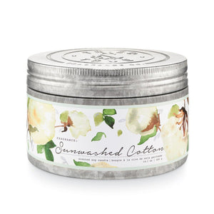 Tried & True Sunwashed Cotton Tin Candle