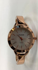 Rose Gold Bracelet Watch with R/S