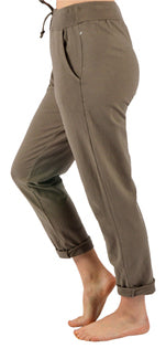 CLW Comfy Pull on Pant Taupe