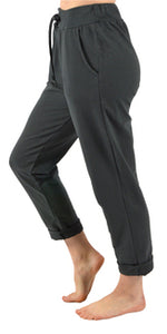 CLW Comfy Pull on Pant Dark Grey