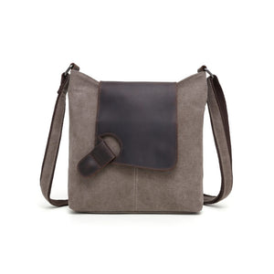 DaVan Tote Bag with Leather Trim