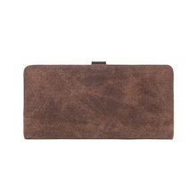 Load image into Gallery viewer, DaVan Waxed Canvas Long Wallet