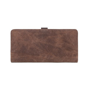 DaVan Waxed Canvas Long Wallet