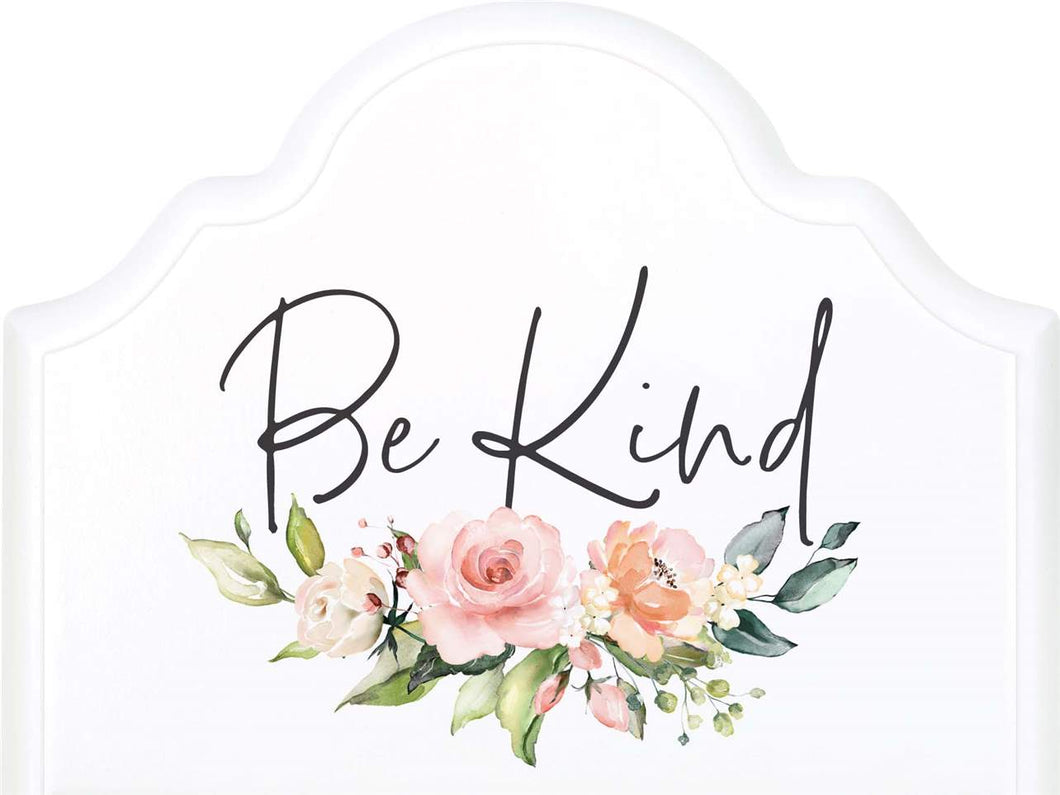 Be Kind Wooden Block