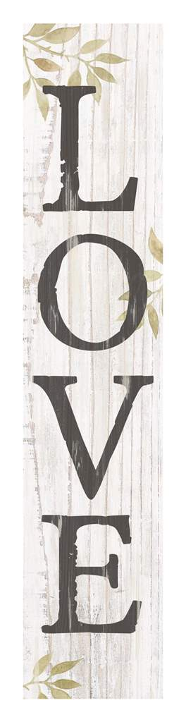 Word Block Sign-Love
