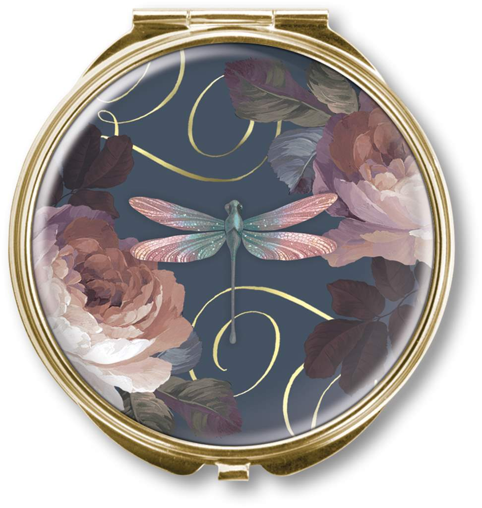 Compact Mirror-Dragonfly Navy