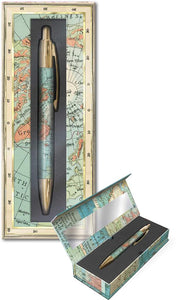 Boxed Pen - World Atlas