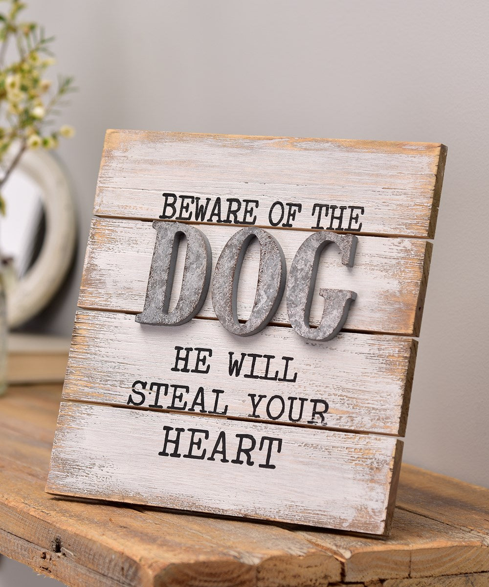 Dog Design Table Decor