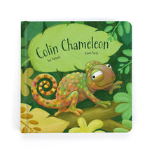 Load image into Gallery viewer, Jellycat Colin Chameleon Book