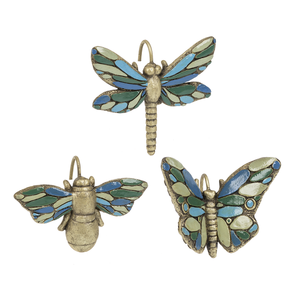 Dragonfly, Butterfly & Bee Pot Sitters