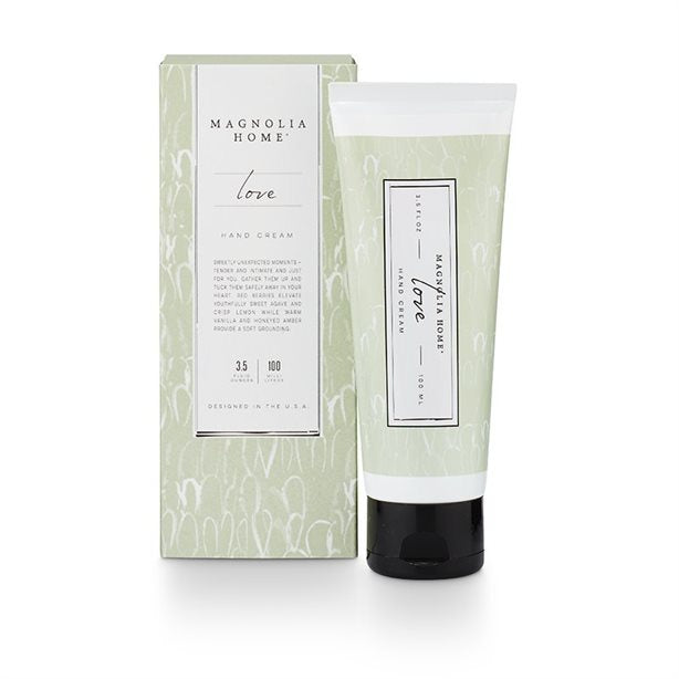 Magnolia Home Hand Cream Love