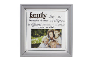 4x6 Wood Family Picture Frame