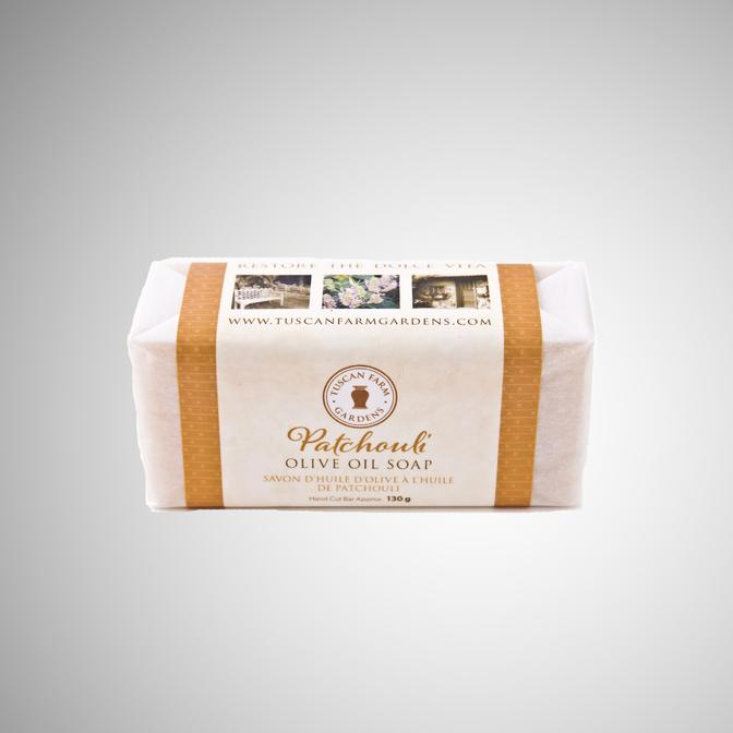 Tuscan Farms Patchouli Olive Oil Soap