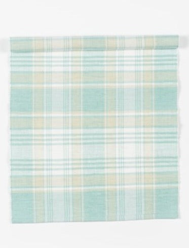 RUNNER RIBBED CHECK TURQUOISE /WHITE/BIEGE