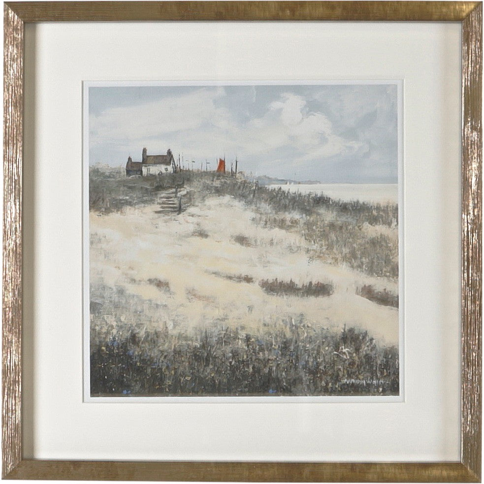 Framed Print House on the Hill