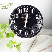 Load image into Gallery viewer, Table Clock- Black