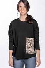 Load image into Gallery viewer, Animal Instinct Pocket Top in Leopard