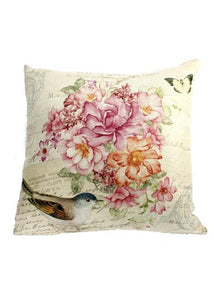 "15.5"" FLORAL ACCENT PILLOW"