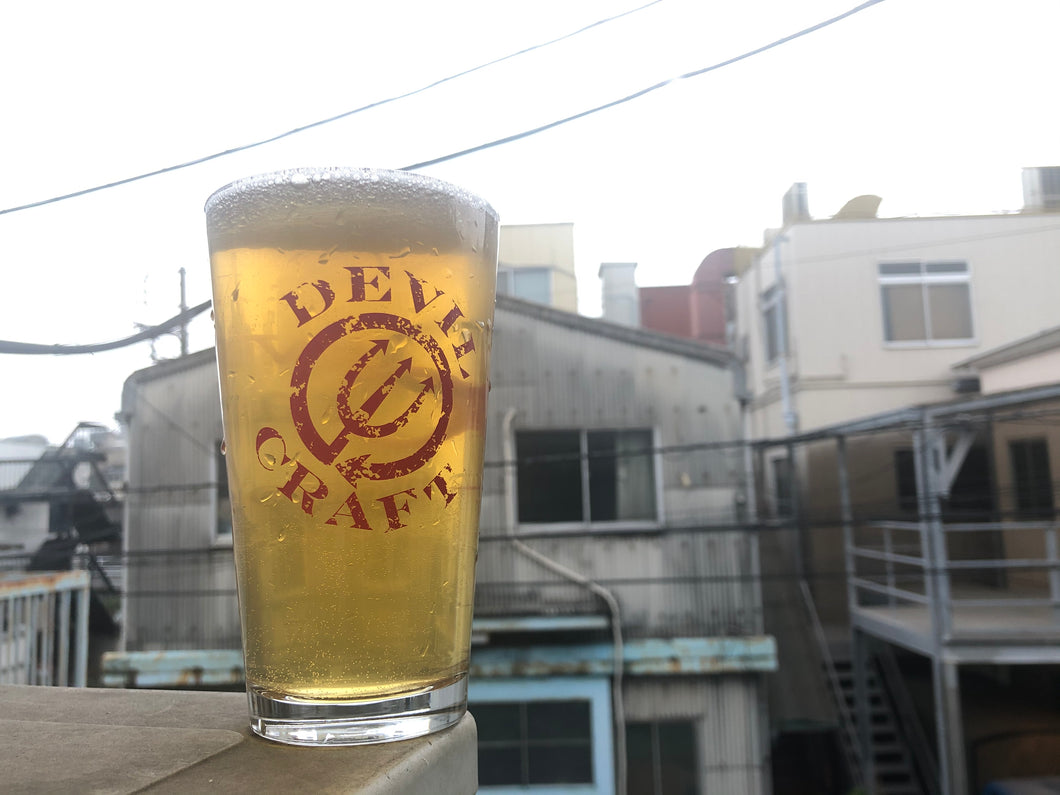 Devil's Original Glassware - US Pint