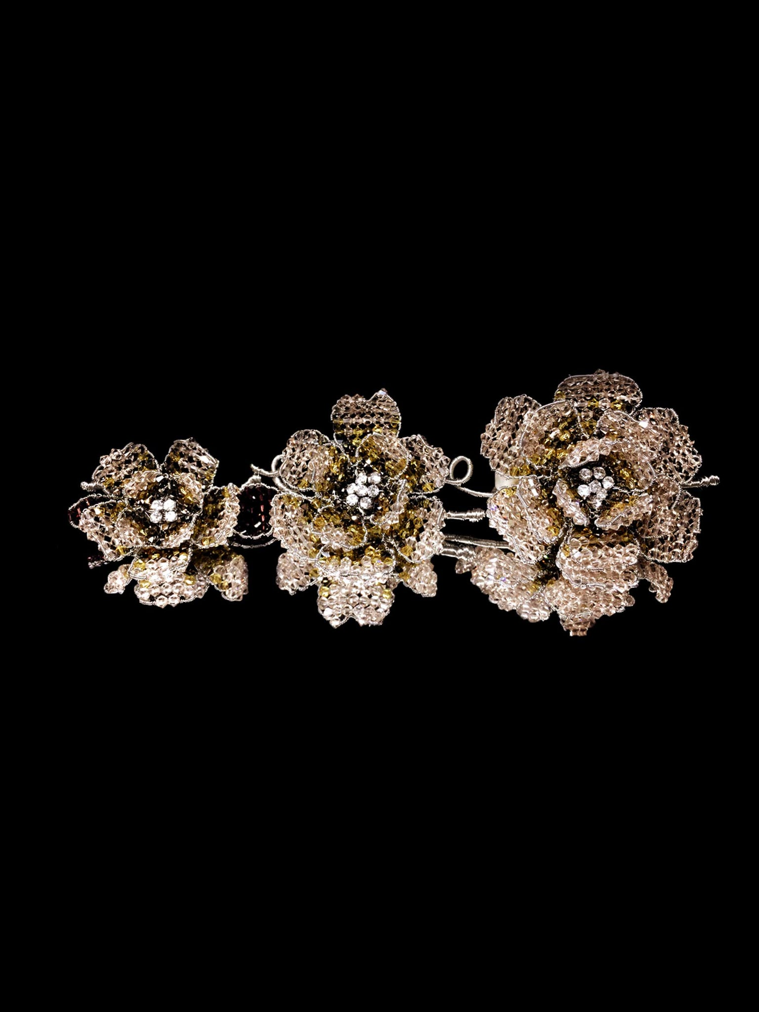 Classic Collection Peony Brooch - Silk