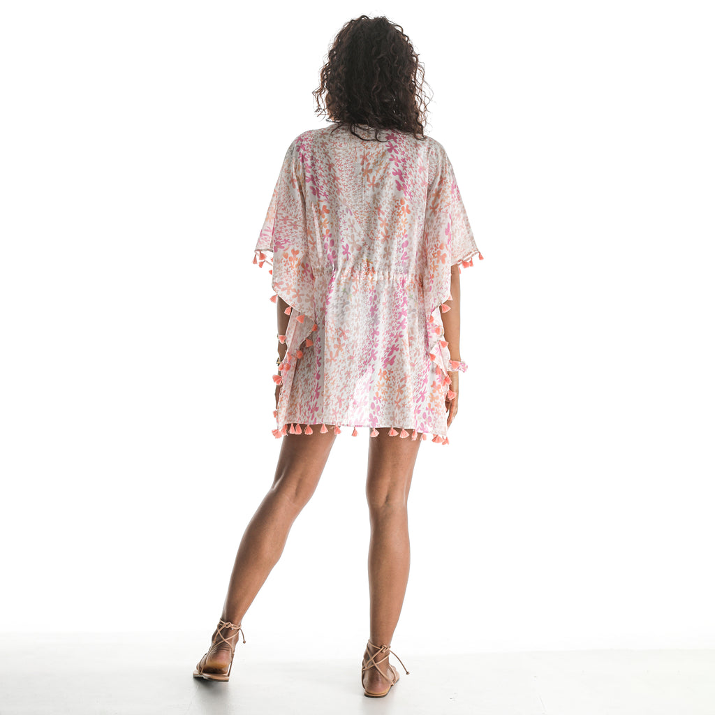 EXHALE FLOWER CAFTAN