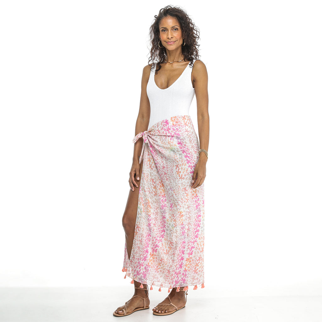 EXHALE FLOWER SARONG