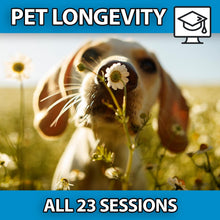 Load image into Gallery viewer, My Pet Thrives: Pet Longevity Video Course