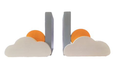 Cloud and Sun Bookends