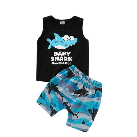 Boys Summer Set Baby Shark