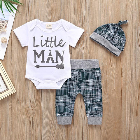 Little man 3 piece for boys