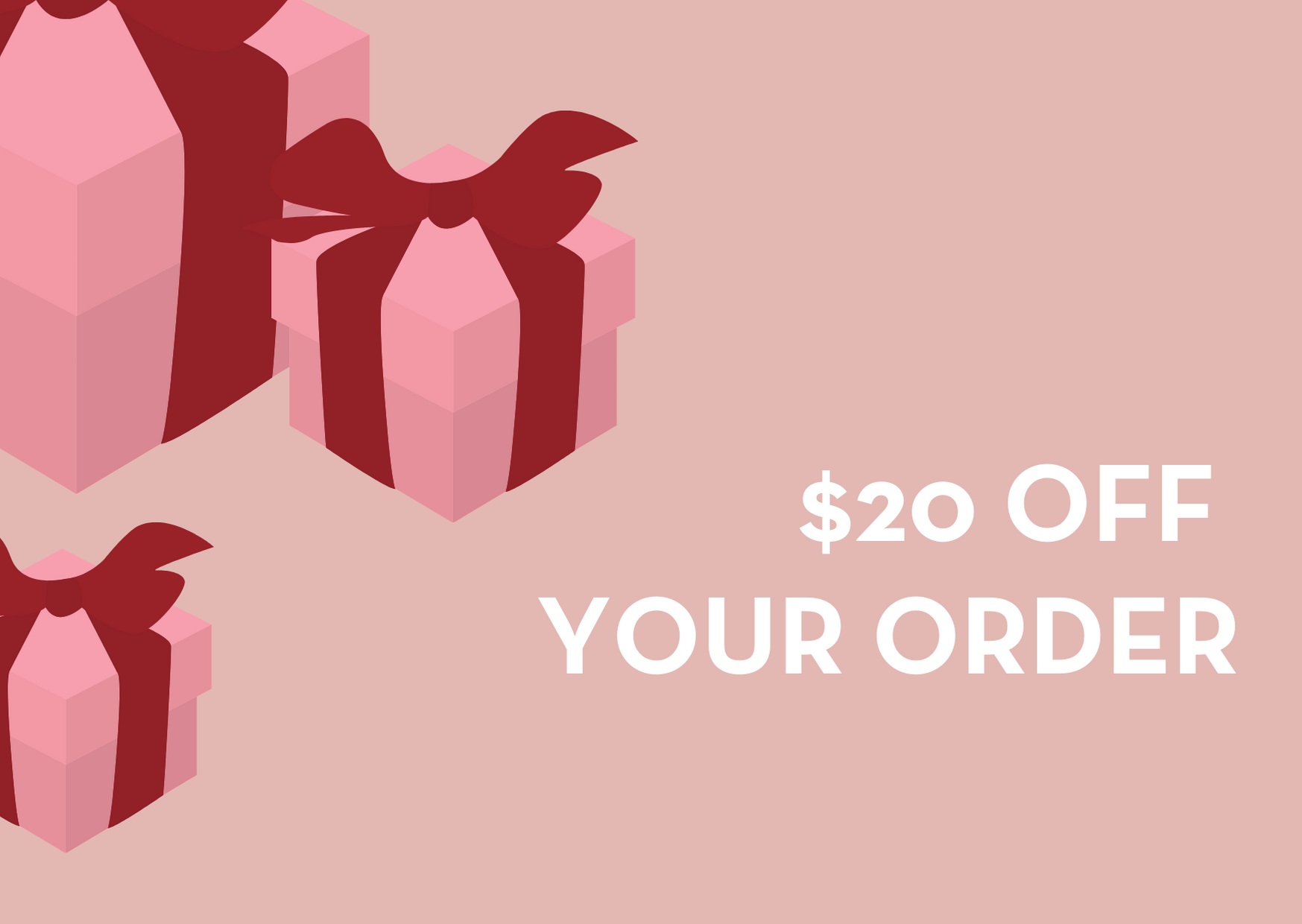 $20 off your order