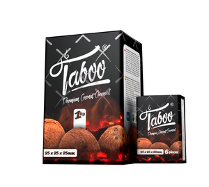 Taboo Premium Coconut CharCoal 1Kg