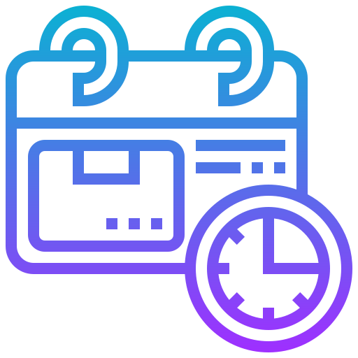 Product feature icon - Schedule