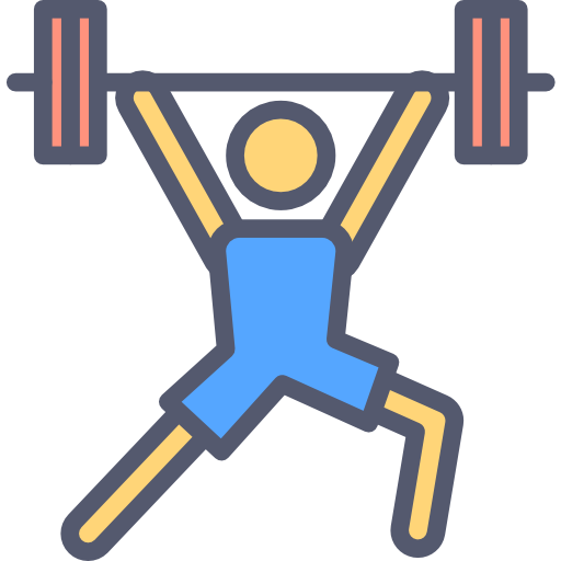 Fitness Icon - Weight Lifting