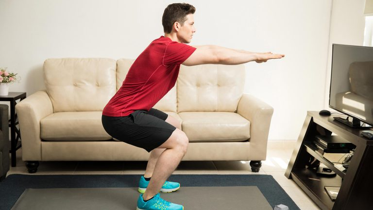 Squat - Home Workout for Men