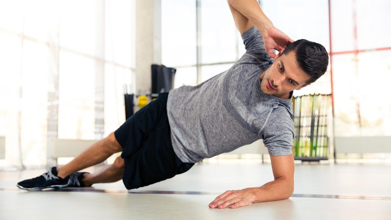 Side Plank - Home Workout for Men